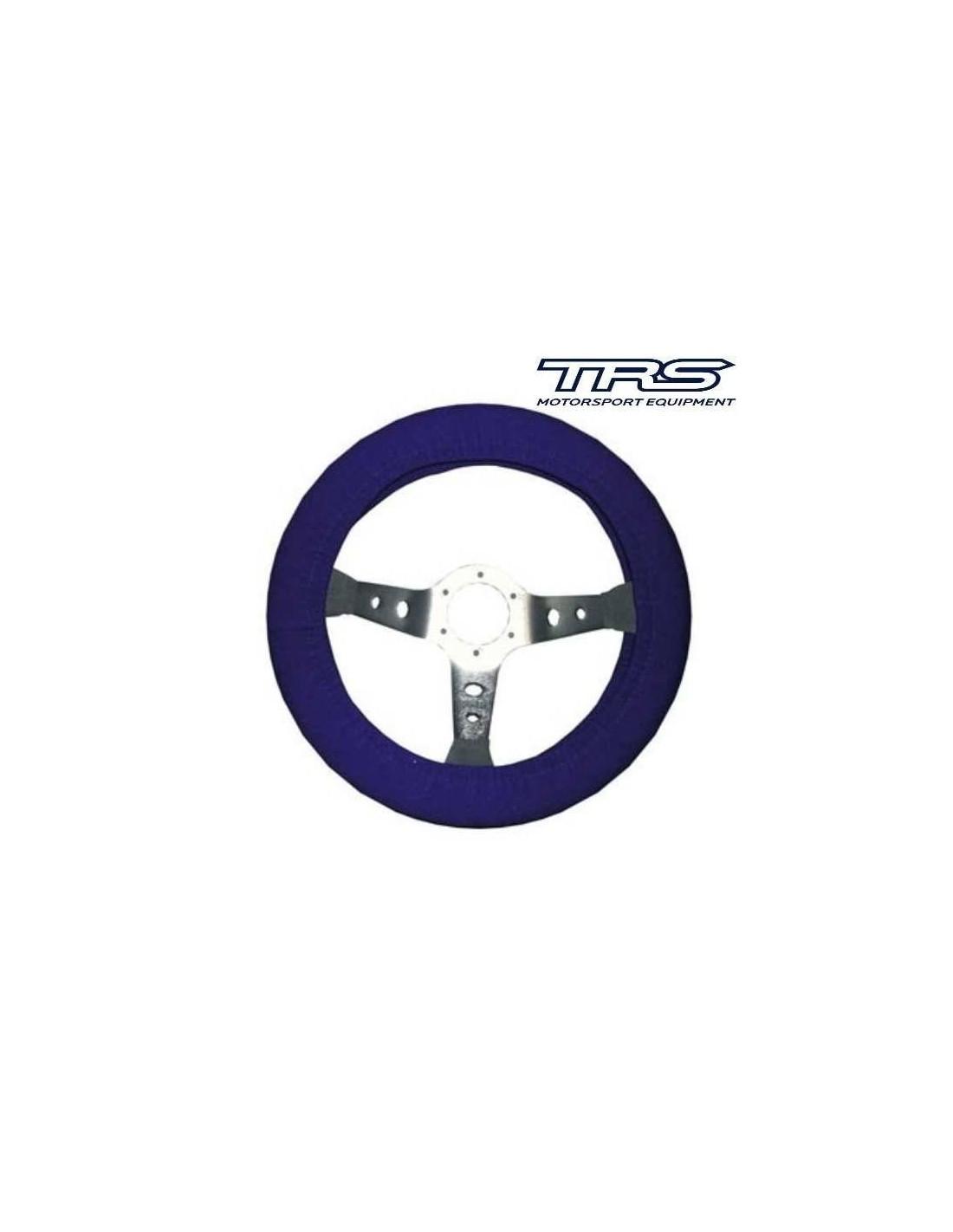 Housse de protection pour volant bleu for Housse volant