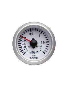 MANOMETRE PRESSION DE TURBO Diamètre 52mm -1/+2 Bars