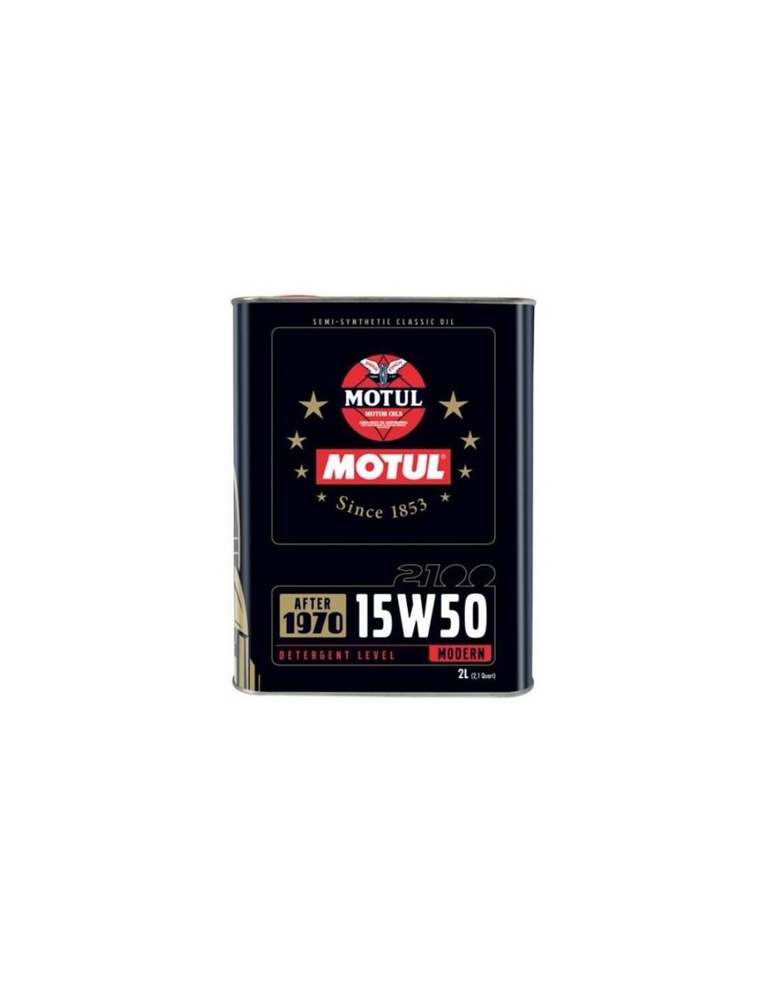 huile moteur multigrade motul classic oil 15w50 bidon de 2 litres. Black Bedroom Furniture Sets. Home Design Ideas