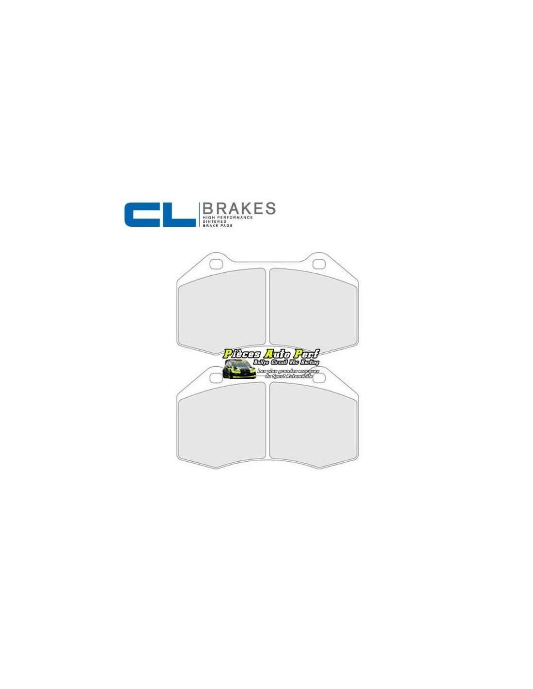plaquettes de freins avant cl brakes pour renault megane 2 rs. Black Bedroom Furniture Sets. Home Design Ideas