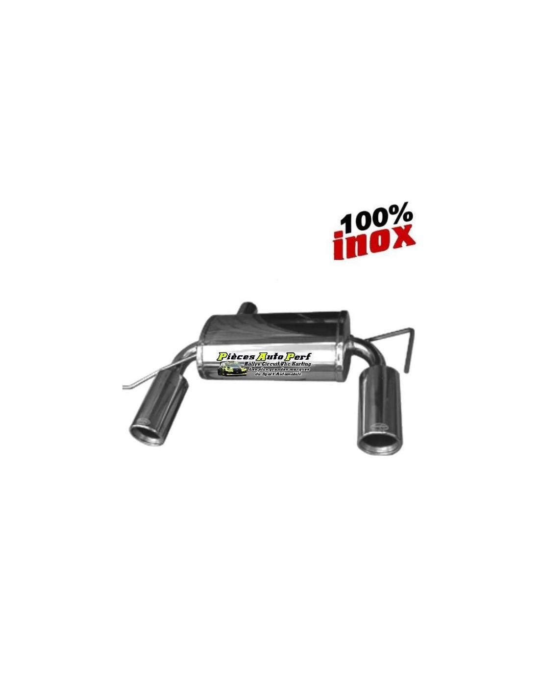 silencieux sportif inox 2 simple sortie ronde 102mm audi tt 1l8 turbo quattro. Black Bedroom Furniture Sets. Home Design Ideas
