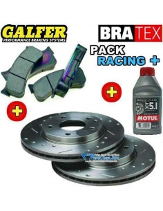 Pack Freinage RACING + Avant Renault Clio III 2l0 16v RS