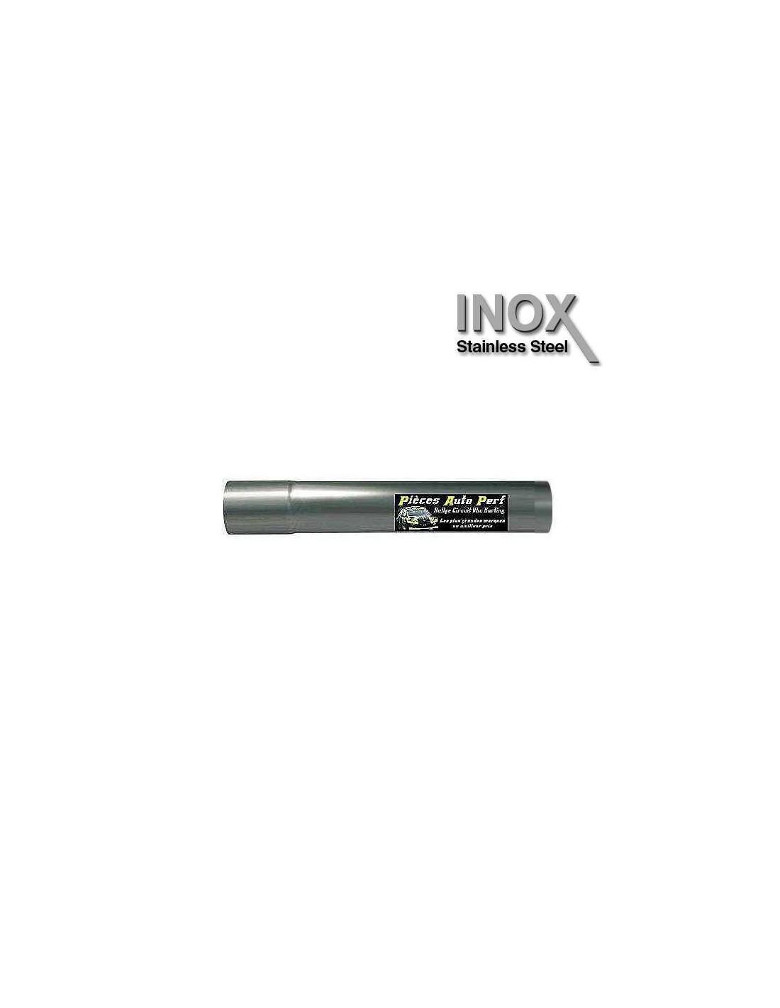 Tube d 39 chappement en inox diam tre ext rieur 57mm for Diametre exterieur