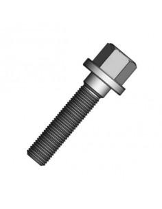 Boulon de roue Plat Filetage 12x125 Longueur 60mm Tete 17mm
