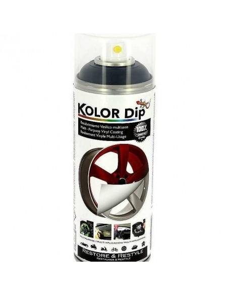 Bombe de peinture plastifiante KOLOR DIP Gun Métal