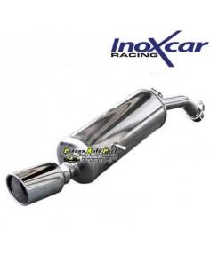 Silencieux échappement Inox 1 sortie X-Race diamètre 90mm Fiat Panda 1l4 16v