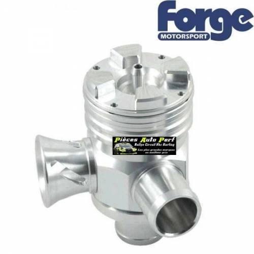 Turbo valve Universel à circuit ouvert ou fermé double piston FORGE Motorsport Argent