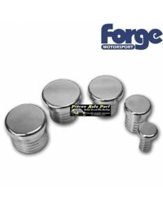 Bouchon aluminium 25mm pour montage de Turbo valve a circuit ouvert