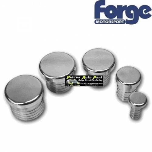 Bouchon aluminium 28mm pour montage de Turbo valve a circuit ouvert