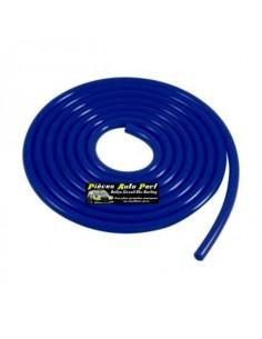 Durite de dépression Silicone Bleu Diamètre 4mm