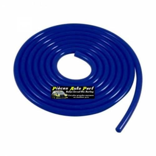 Durite de dépression Silicone Bleu Diamètre 8mm
