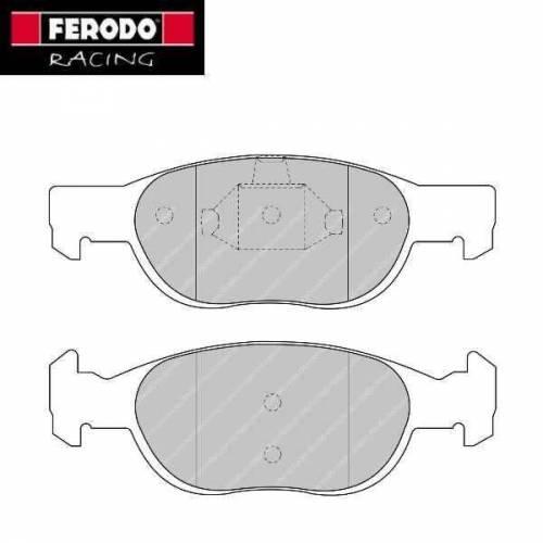 plaquettes de freins avant ferodo racing pour renault twingo 2 r1. Black Bedroom Furniture Sets. Home Design Ideas