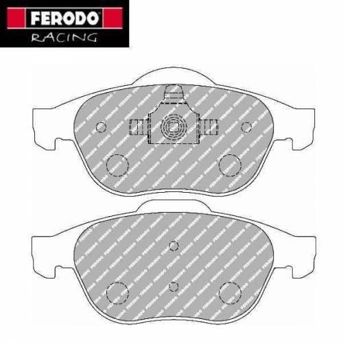 plaquettes de freins avant ferodo racing pour renault twingo 2 r2. Black Bedroom Furniture Sets. Home Design Ideas