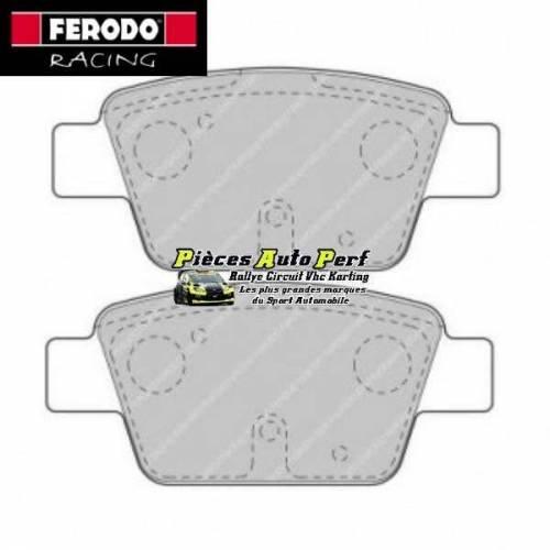 plaquettes de freins arri re ferodo racing pour peugeot 207 1l6 16v rc. Black Bedroom Furniture Sets. Home Design Ideas
