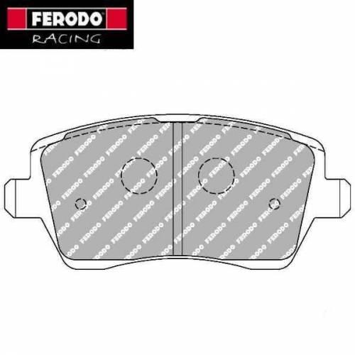 plaquettes de freins avant ferodo racing pour renault clio 4 rs turbo. Black Bedroom Furniture Sets. Home Design Ideas