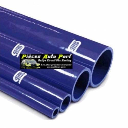 Durite droite silicone renforcé Bleu Longueur 1 mètre Diamètre 76mm