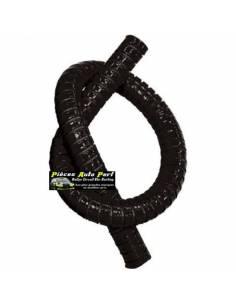 Durite droite Flexible silicone renforcé Noir Longueur 1 mètre Diamètre 16mm