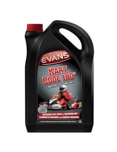 Liquide de refroidissement Sans Eau EVANS Karting Cool 180 Bidon de 5 Litres