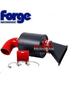 Kit Admission dynamique Racing Boite à air Carbone/Durites Rouge pour Volkswagen Sirocco 1l4 TFSi