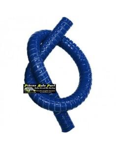 Durite droite Flexible silicone renforcé Bleu Longueur 1 mètre Diamètre 25mm