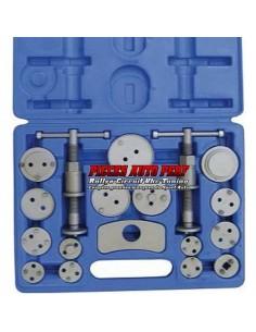 Coffret PRO repousse pistons pour étriers de freins 18 pièces