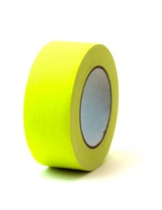 Rouleau de Scotch Jaune Fluorescent