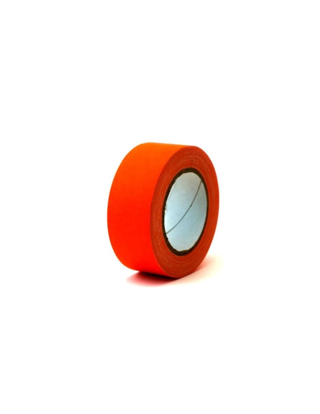 rouleau de scotch isolant orange fluorescent 50mm x 25 m tres. Black Bedroom Furniture Sets. Home Design Ideas