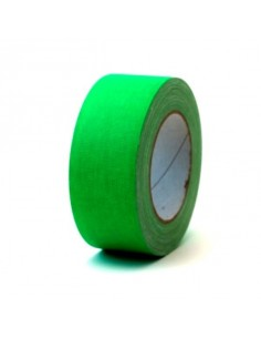 Rouleau de Scotch isolant Vert Fluorescent