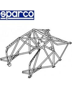 Arceau de sécurité Structure multipoints homologué FIA SPARCO Mitsubishi Lancer Evo 7