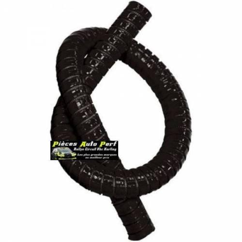 Durite droite Flexible silicone renforcé Noir Longueur 1 mètre Diamètre 38mm