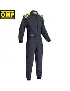 Combinaison FIA OMP First S 2017 Gris foncé