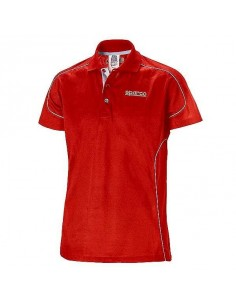Polo SPARCO Racing Rouge