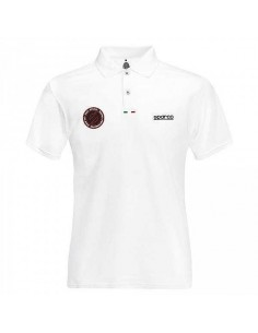 Polo homme SPARCO Performance Blanc