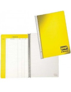 Cahier de notes Co-pilote A4 OMP