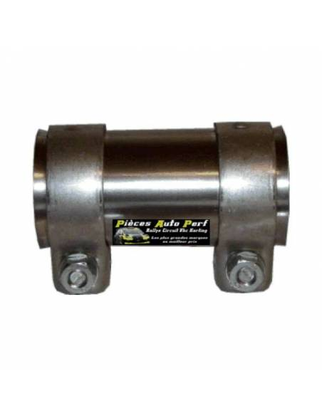 Manchon Inox Femelle/Femelle pour Tube d'échappement Diamètre 45mm