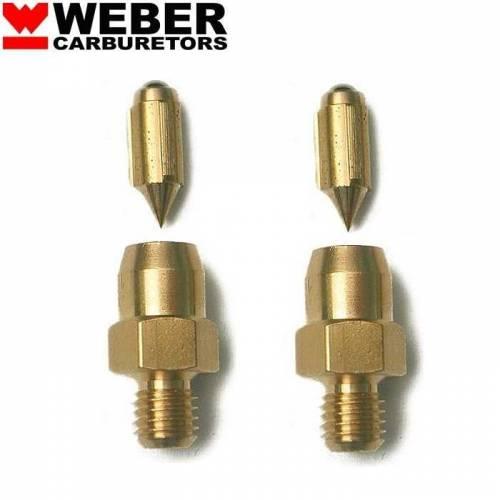 2 Pointeaux 150 pour carburateur WEBER