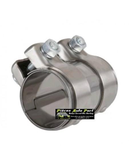 Manchon Inox Femelle/Femelle pour Tube d'échappement Diamètre 50mm
