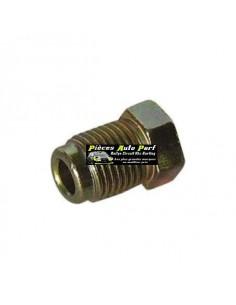 Raccord de freins court male métal Filetage 10x100