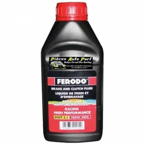 Liquide de frein FERODO 5.1 Bidon 500ml