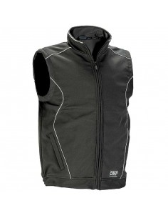 Softshell sans manches OMP Racing Spirit Gris