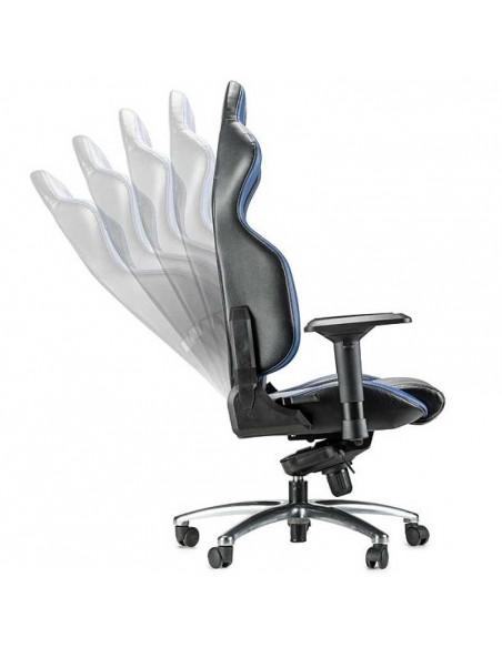 Siège de bureau en Simili Cuir SPARCO R100 S Noir
