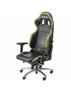 Siège de bureau en Simili Cuir SPARCO R100 S Noir et vert