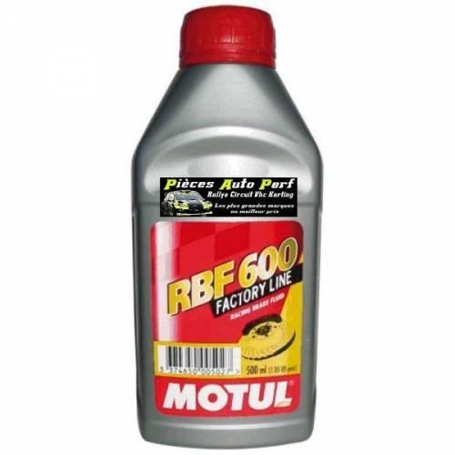 Liquide de frein MOTUL RBF 600 Factory Line Bidon 500ml