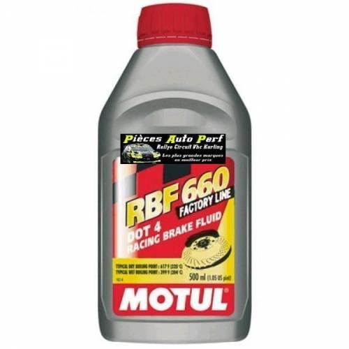 Liquide de frein MOTUL RBF 660 Factory Line Bidon 500ml