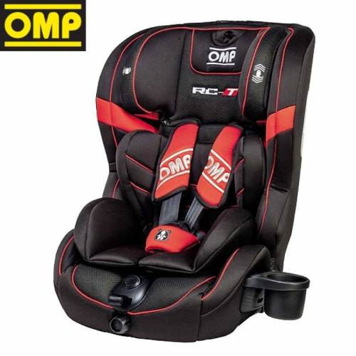Siège auto enfant OMP RC-T Noir/Rouge