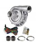 Kit complet Pompe à eau électrique Alu 12 volts Débit 115 litres/minute