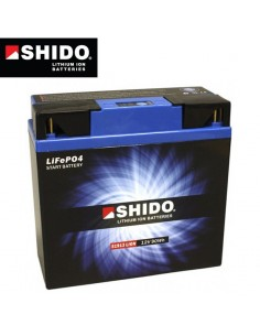 Batterie Lithium Hautes performances SHIDO16Ah 186x82x171mm
