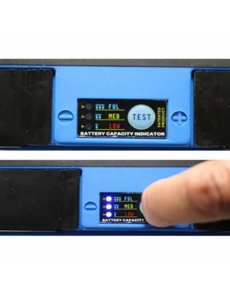 Fonction test de la batterie Lithium-ion SHIDO