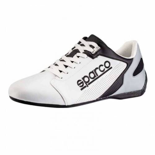 Chaussures SPARCO SL-17 Cuir blanc