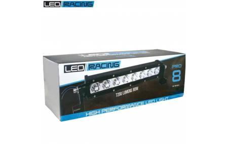Boite de Phare à 8 leds Pro LED-LAZER SW-8 Noir homologué CEE